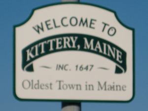 Stopped in Kittery, Me